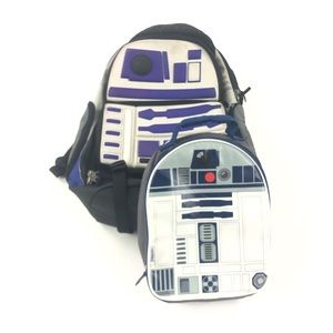 Star Wars R2D2 Backpack And Lunch Box